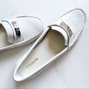COACH Buttery Soft Leather Fredrica Driver Loafer